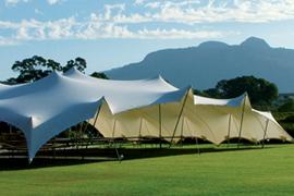 & Rent a Stretch Tent | Nomadik Tents